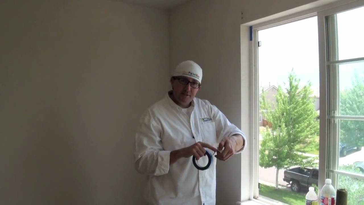 how to paint a room interior house painting prep work youtube