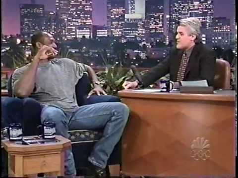 Karl Malone on Tonight Show with Jay Leno - 1999
