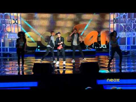 Abraham Mateo - Señorita - Neox Fan Awards 2013 (24 - 09 - 2013)