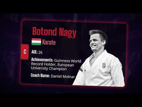 Meet the Athletes - Botond Nagy | 2nd Ludus Star Championships