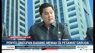 Tegas! Erick Thohir Pecat Dirut Garuda Indonesia