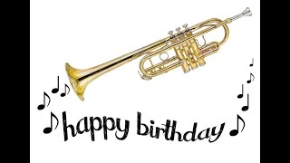 Happy Birthday (Trumpet Version)