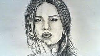 How to draw - Adriana Lima