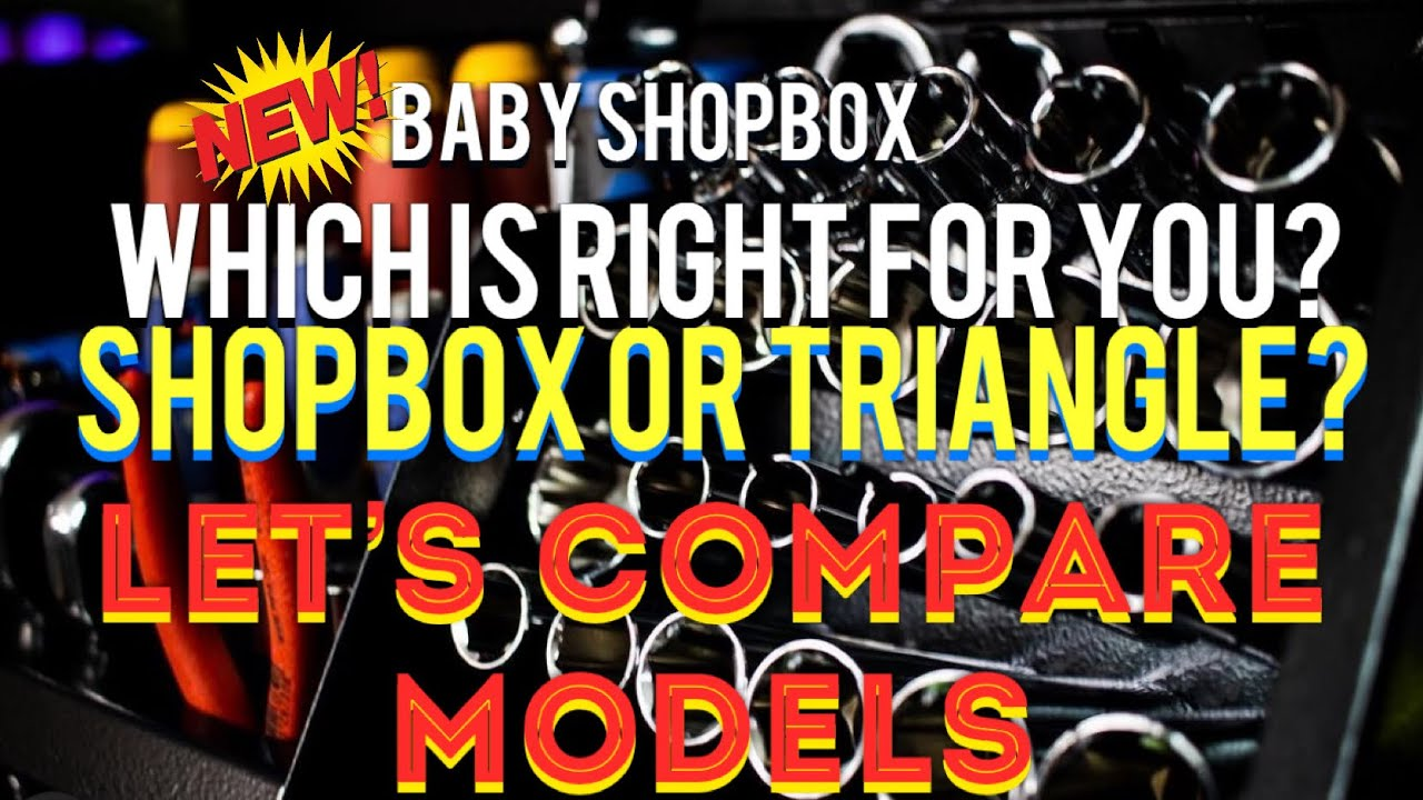 Montezuma Boxes Compared Side By Side SHOPBOX and TRIANGLE. Which Box Is Right For You? Baby Shopbox