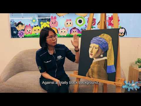 Muzart Art History 101 - The Girl With The Pearl Earring by Johannes Vermeer