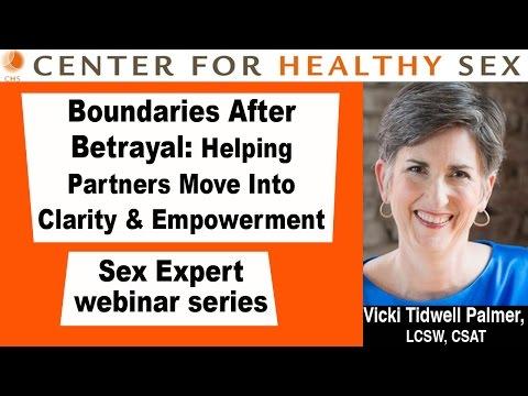 Boundaries after Betrayal -- CHS webinar with Vicki Tidwell Palmer