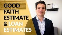 Ep. 126: What are Loan Estimates & Good Faith Estimates?