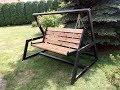 DIY Steel Garden Swing