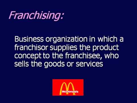 Chapter 5 Forms of Business Ownership (Part 2 of 2).