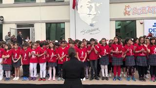 Gambar cover Denge Okulları 2018 - 2019 23 Nisan Ulusal Egemenlik ve Çocuk Bayramı töreni.