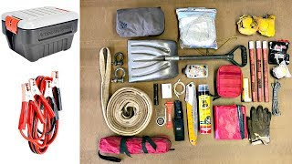 25 Must Have Items for Your Car Emergency Kit pt1