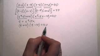Решение рациональных уравнений (видео-1)