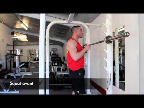 Exercice des Squat Avant - YouTube