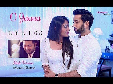❤️ Ishqbaaaz || O JAANA LYRICS | Male Version ❤️