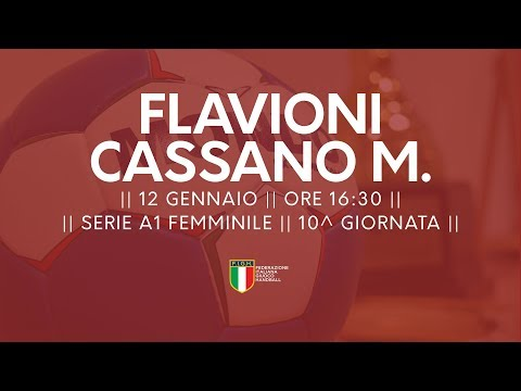 Serie A1F [10^]: Flavioni - Cassano Magnago 18-21