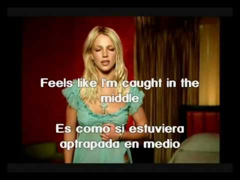 Britney Spears I'm Not A Girl, Not Yet A Woman subtitulos ingles español