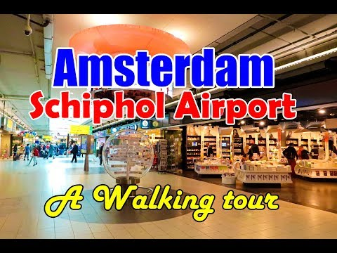 First time in Europe ll Amsterdam Schiphol Airport ll Inside Tour