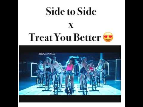 Shawn mendes,Ariana grande-side to side × treat you better descripción ⬇⬇⬇