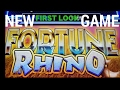 """**NEW GAME** (FIRST LOOK) """"AINSWORTH FORTUNE RHINO"""" LIVE PLAY + VERY NICE BONUS"""