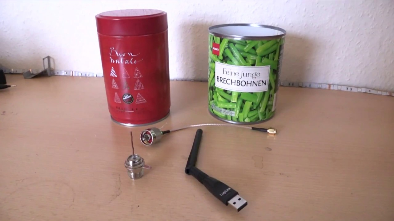How To Make a Wi-Fi Antenna Out Of a Pringles Can
