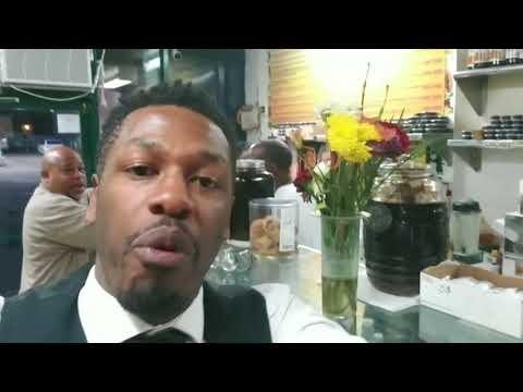 Reggae Juice Bar on 145th st Harlem USA