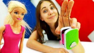 Делаем чемодан для Барби своими руками - Видео для девочек