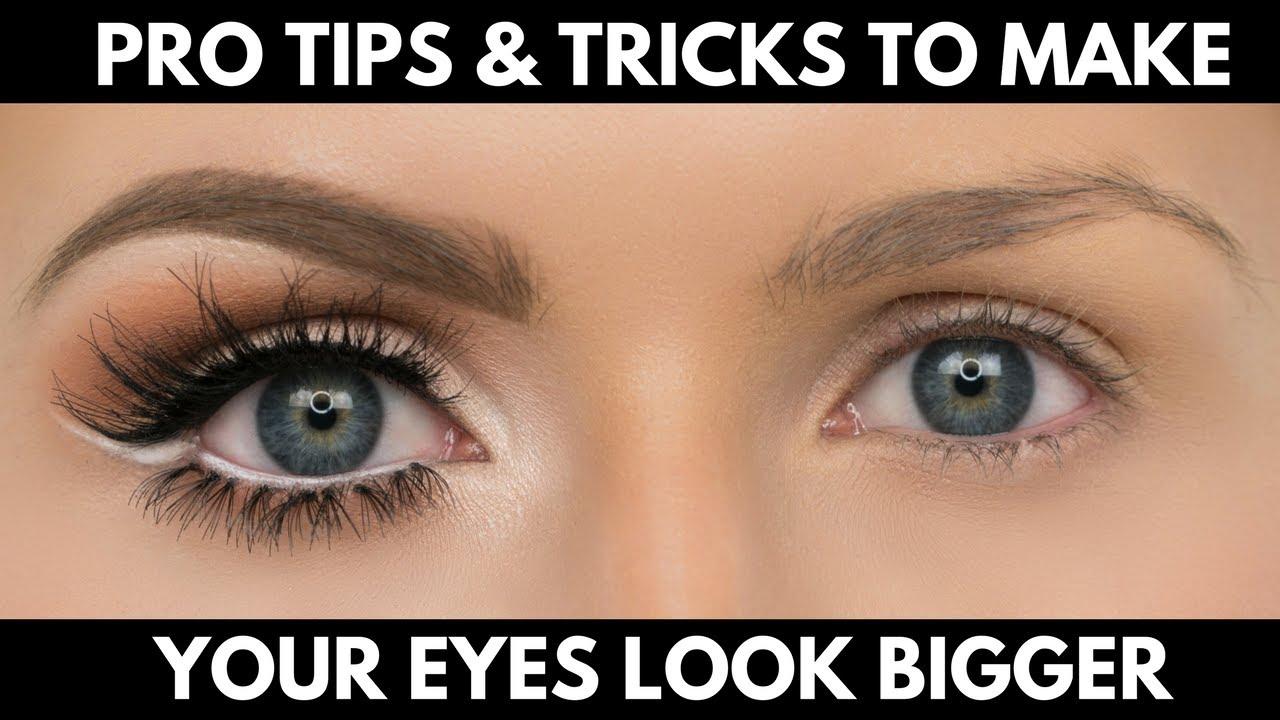 Make your eyes look bigger than lyrics