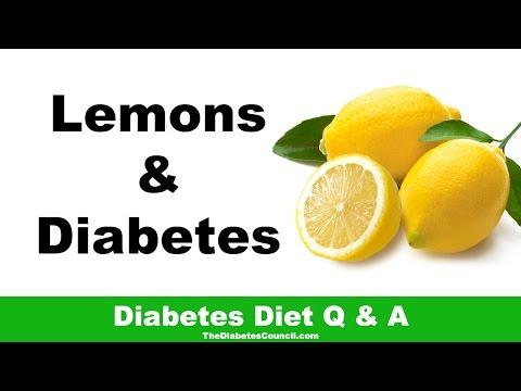 Are Lemons Good For Diabetes?
