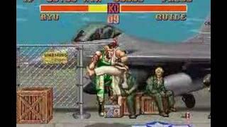 Ryu Vs. Guile - Street Fighter Ii - Snes