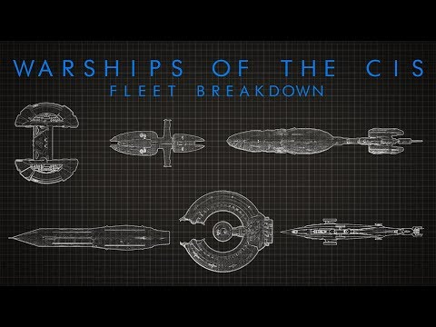 Star Wars: The Warships of the CIS