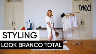 Styling MO by Gabriela Pinheiro - Look branco total