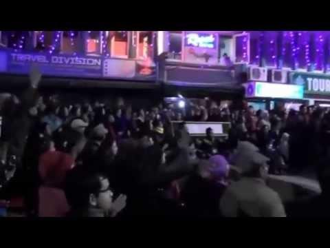 Bipul Chettri Live @ M G Marg, Gangtok during Sikkim Winter Carniva