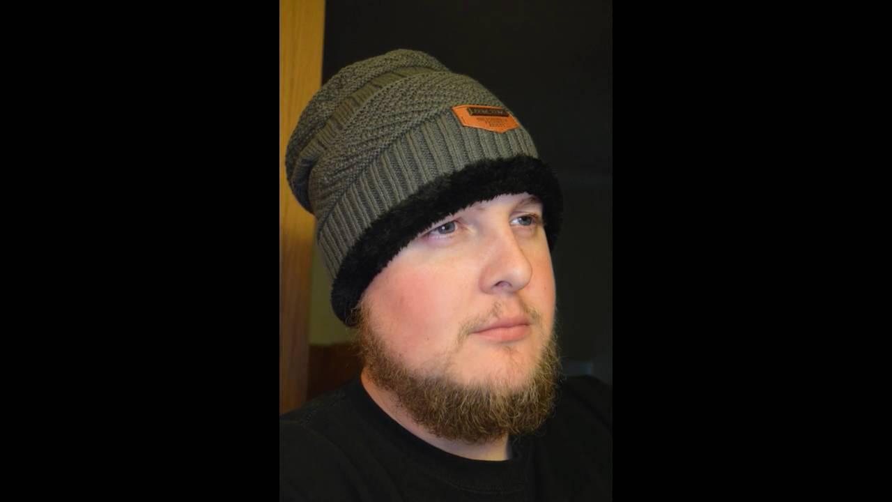 Gellwhu Men Soft Lined Thick Wool Knit Skull Cap Warm Winter Slouchy  Beanies Hat Review 30b2c83122fb