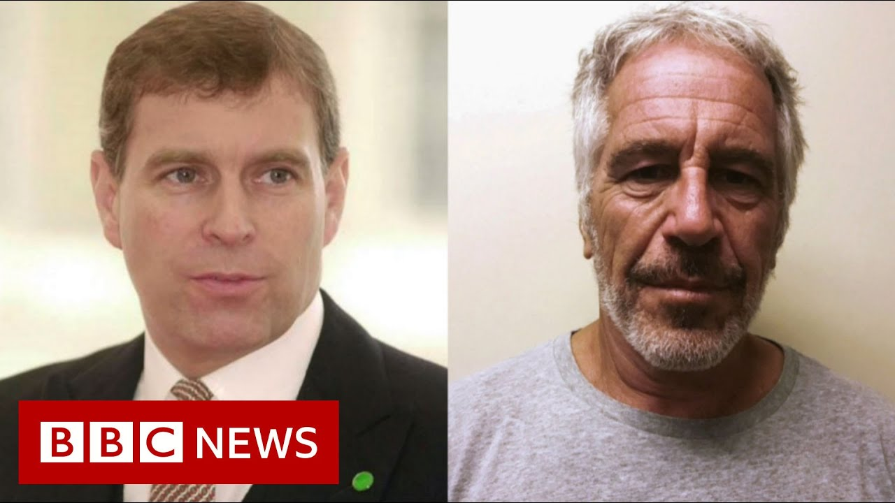 Prince Andrew And Jeffrey Epstein What We Know Bbc News Youtube