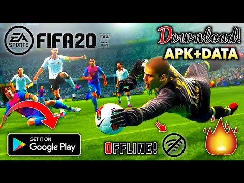 (Online+Offline) FIFA 20 Mobile Update Version Download Android | New Commentary | Apk+Data  #Smartphone #Android