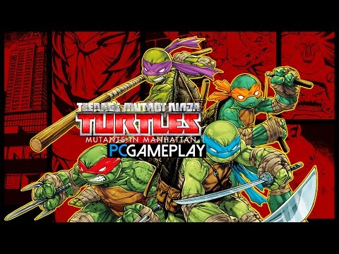 Teenage Mutant Ninja Turtles: Mutants in Manhattan Gameplay (PC HD)