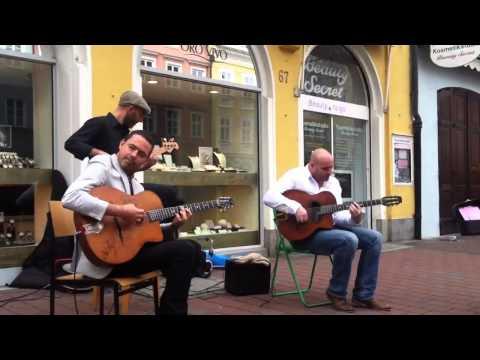 Robin Nolan Trio  Tainted love live at Landshut 2013