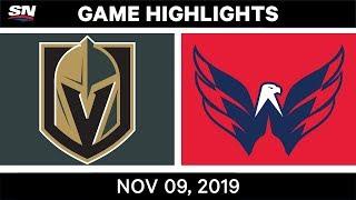 NHL Highlights   Golden Knights vs. Capitals – Nov. 9, 2019