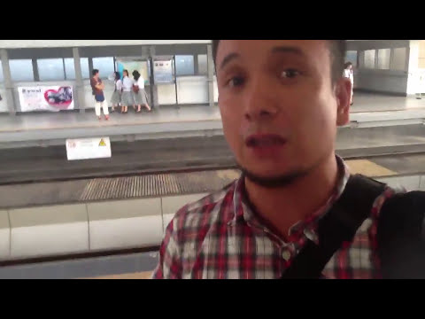 Your Manila tour guide takes you to LRT 2