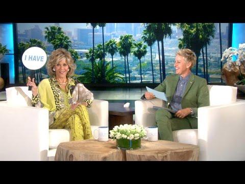 Jane Fonda and Ellen Play 'Never Have I Ever'