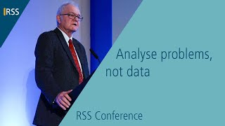 Barnett Lecture: Analyse problems, not data