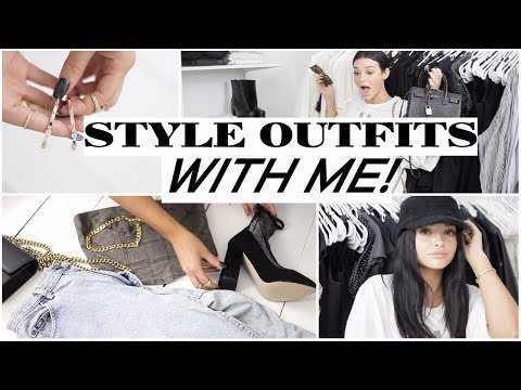 CHIT-CHAT STYLE WITH ME!   How to Style Outfits!