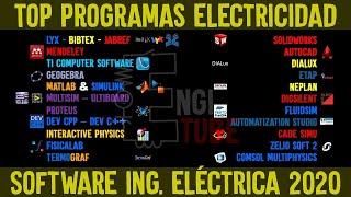 PROGRAMAS 2021 para ELECTRICISTAS ⚡ Top SOFTWARE 2021 Ingeniería ELÉCTRICA 💻 screenshot 3