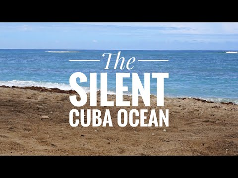 Ocean waves sounds | CUBA | relaxing sea water beach WITHOUT music (4 hours)
