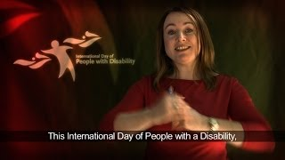 Break Barriers and Open Doors - International Day of People with Disability