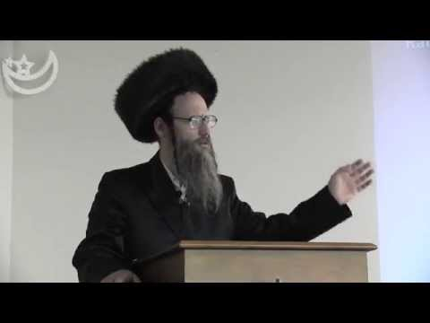 Jewish Rabbi explaining the difference  between Judaism and Zionism