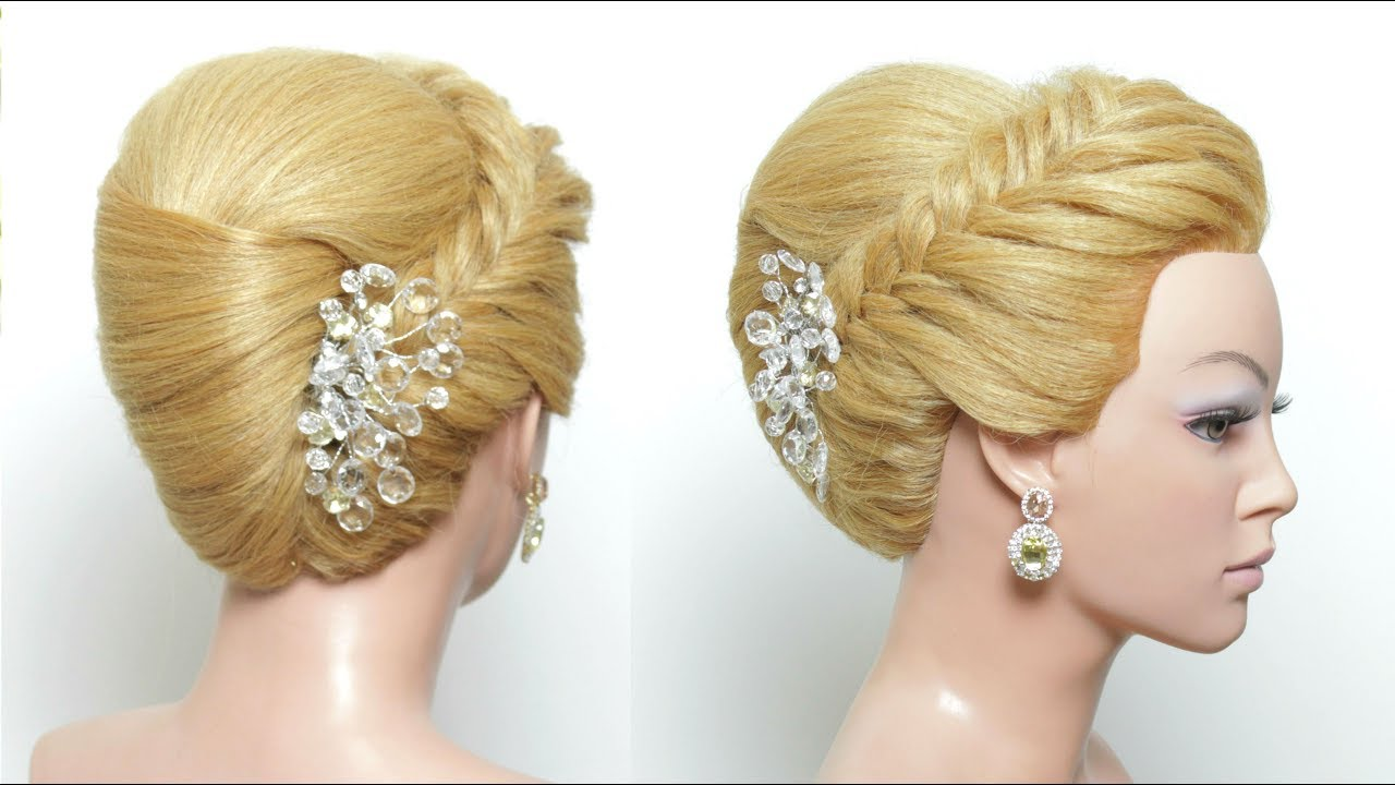 Hairstyles Juda: Juda Hairstyle: French Roll For Long Medium Hair Tutorial