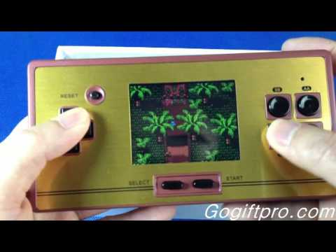 600 Games FC Pocket Handheld  Console Review