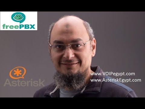 طريقة عمل كول سنتر لشركة باستخدام FREEPBX-Asterisk الجزء الثاني -الإعدادات