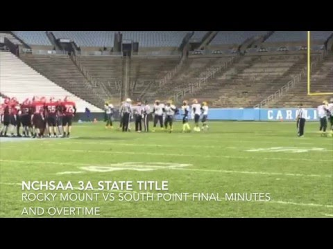 Rocky Mount State Title: The Final Minutes & Overtime